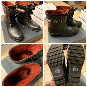 BRAND NEW AUTHENTIC TOMMY HILFIGER RAIN BOOTS